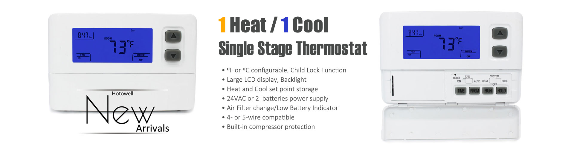 Hotowell heat pump thermostat