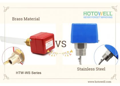 What are Differences between Brass and Stainless Steel Water Flow Switches?