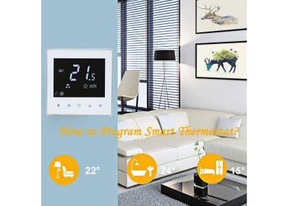 How to program The Smart Thermostat?