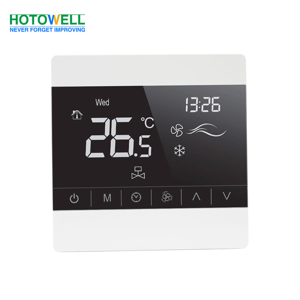 HTW-61-FC002.T8000 Series Touch Screen FCU Thermostat