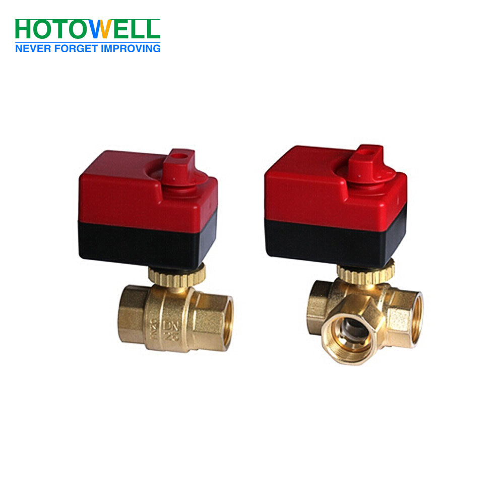 Manual switch 3-wire SPDT Motorized Ball Valve