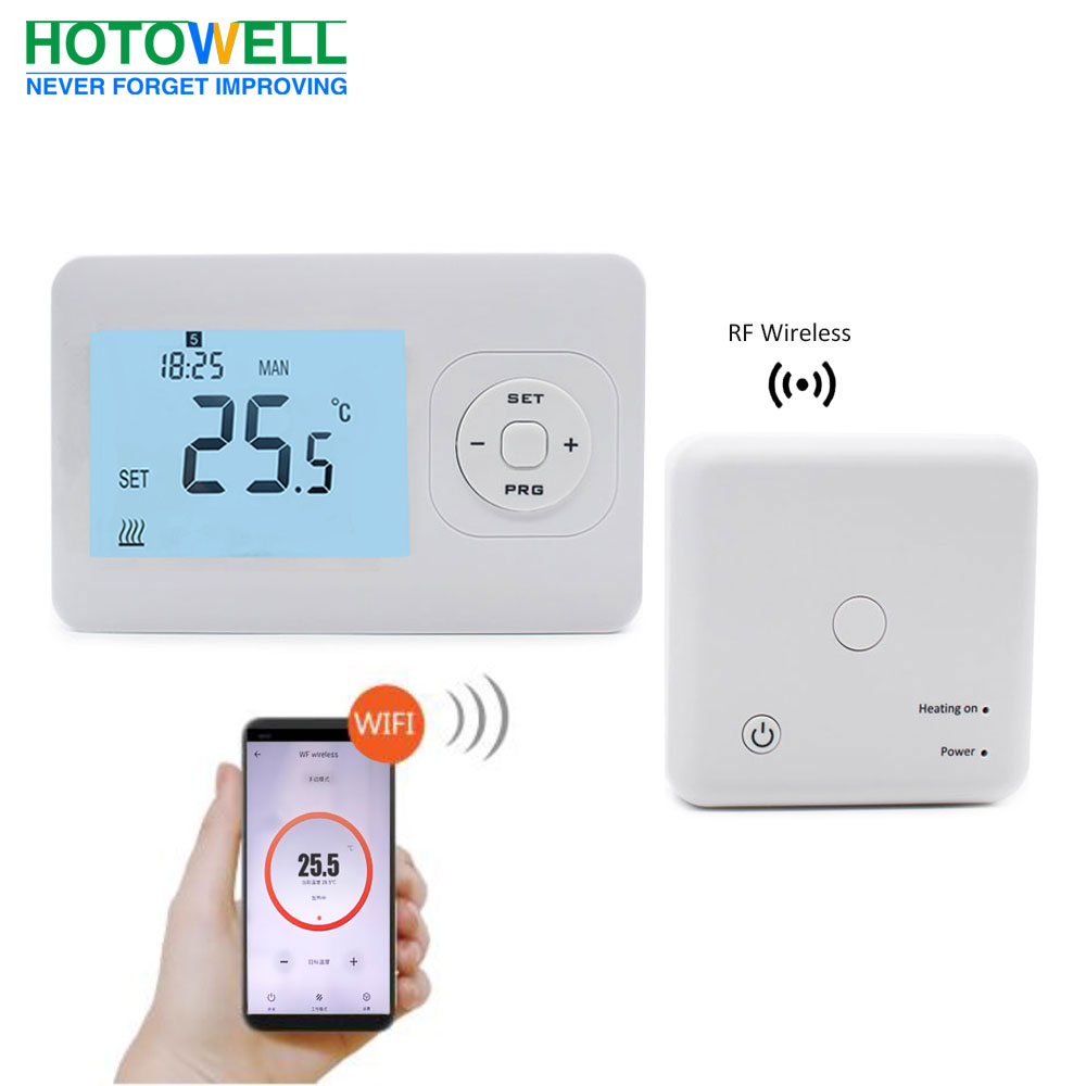 Smart wireless wifi control floor heating thermostat