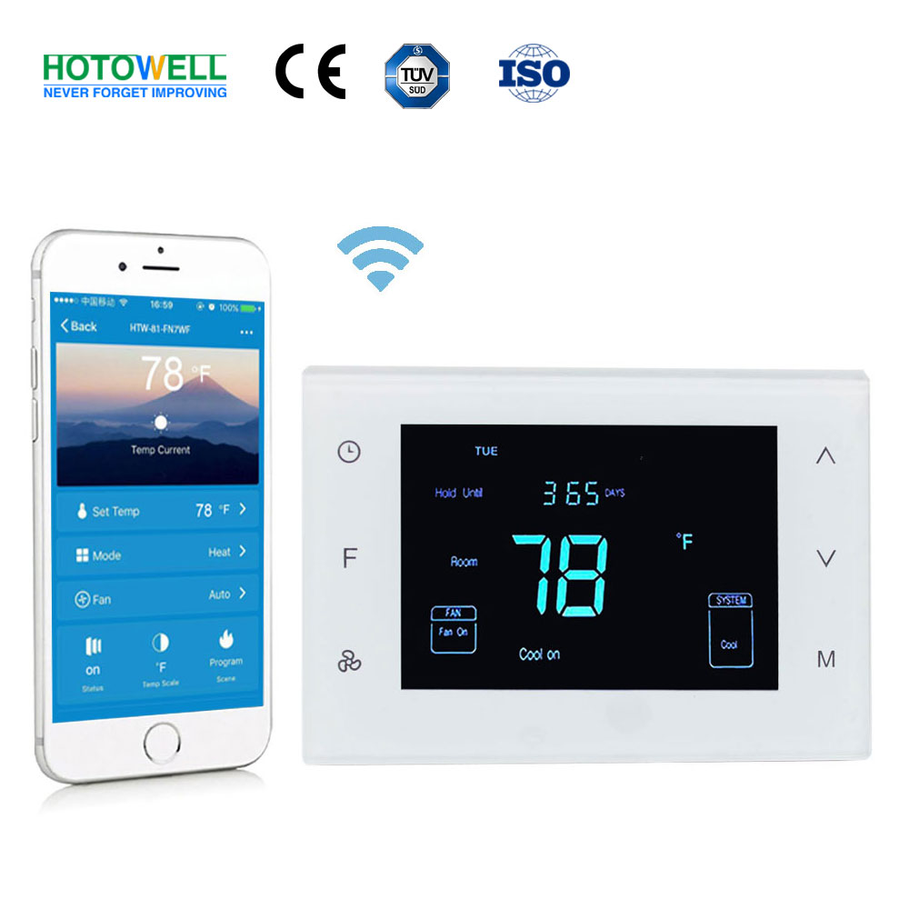 Multi Stage Heat Pump Thermostat with wifi control