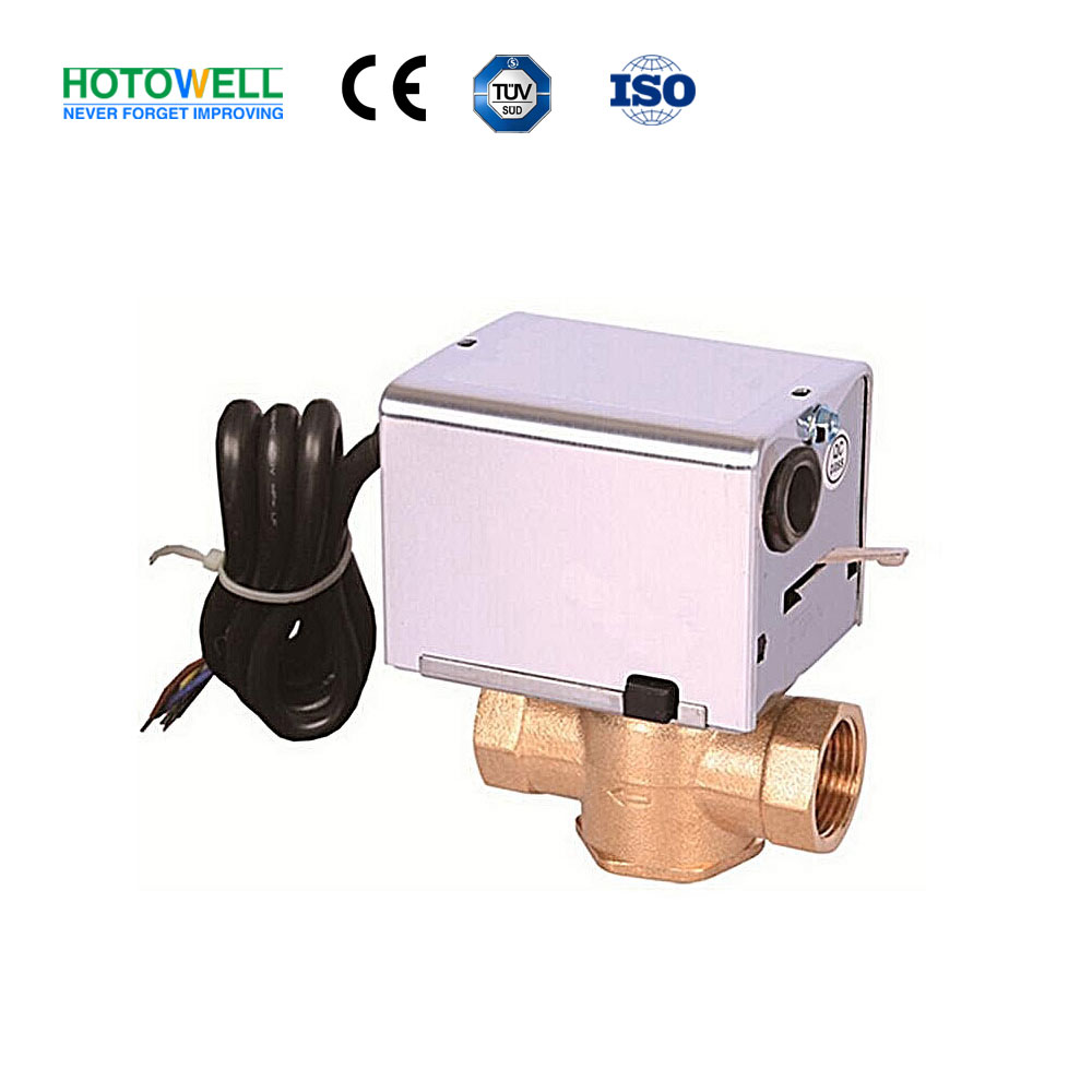 5 Wire Motorized ON/OFF Brass water Valve