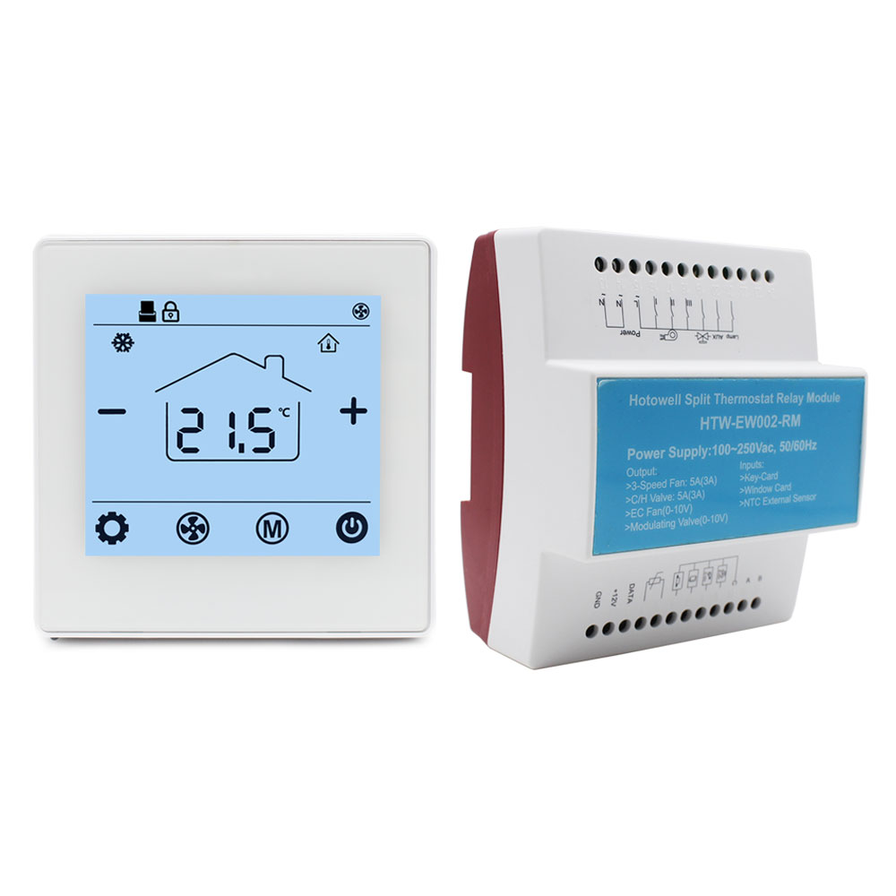 New energy-efficient and noise-free hotel room temperature thermostat
