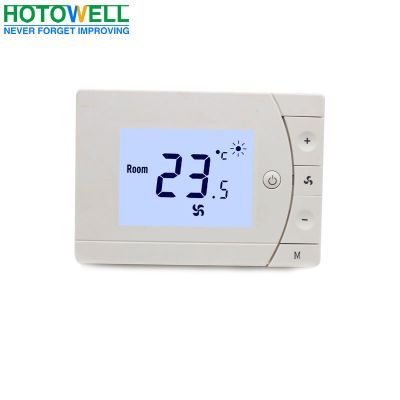 Mechanic modbus fcu room thermostat for heating/Cooling ,ventilation and air conditioning